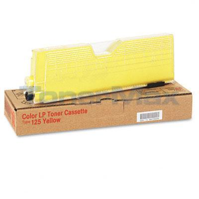 RICOH AFICIO CL-3000 TYPE 125 TONER CASSETTE YELLOW